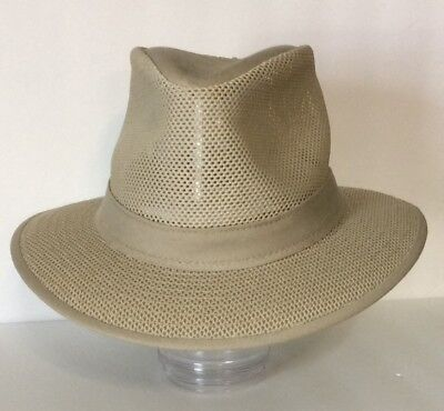 H1H Henschel Khaki Mesh Hat - Medium (No Drawstrings)