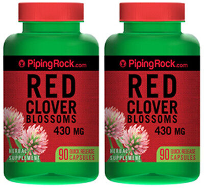 Red Clover Fertility (RED CLOVER BLOSSOMS 430MG FEMALE FERTILITY MENOPAUSE SYMPTOM SUPPLEMENT 180 CAPS )