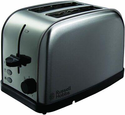 Russell Hobbs Futura 2 Slice Toaster - Stainless Steel Variable settings -...