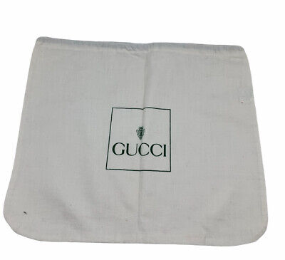 Vintage Authentic GUCCI Dust Cover Pouch Bag Drawstring Small Medium AD