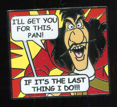 Villains Comic Book Mystery Captain Hook Disney Pin 87521