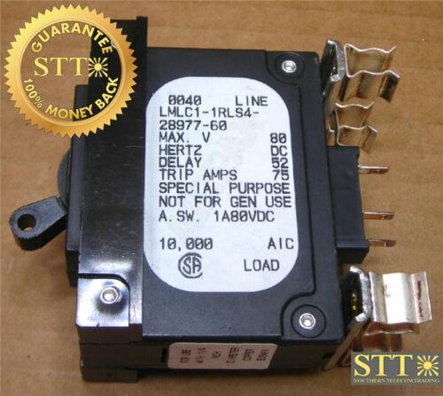 Lmlc1-1rls4-28977-60 Airpax 60 Amp Snap In Breaker
