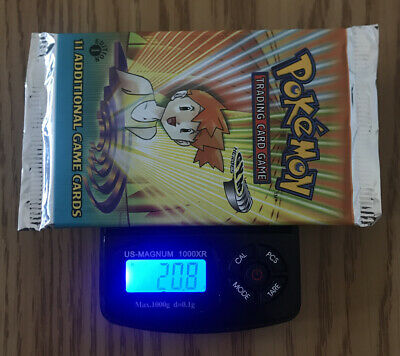 Pokemon 1st Edition Gym Heroes Booster Pack Sealed Weighed 20.8G - Misty Art