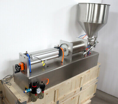 1000-5000ml Adjustale Liquid Paste Filler Automatic Packing Machine 304stainless
