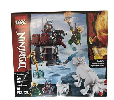 LEGO Ninjago: Lloyd's Journey (70671) -Non Mint