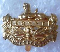 Badge- Gloucestershire Regiment Cap Badge - Egypt Badge Brass -  - ebay.co.uk