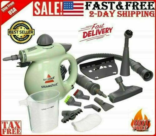 BISSELL Multifunction Handheld Steamer Household Steam Cleaner Kit Portable NEW.