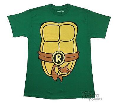 Teenage Mutant Ninja Turtles Raphael Kostüm Tmnt Lizenziert - T Shirt Ninja Kostüm