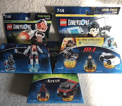 Lego Dimensions Bundle 71210,71248,71251