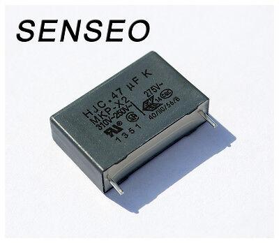 Kondensator MKP X2 0,47µF 275V Senseo 7810 7820 7822 7823 7825 7827 7840 7841 43