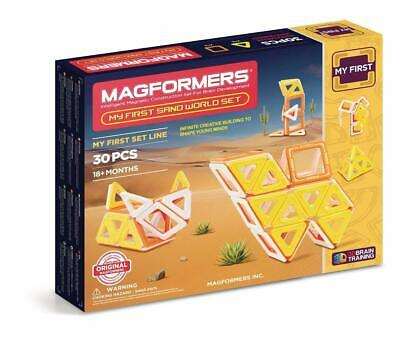 Magformers 30 Piece My First Sand World - Magnetic Construction Set for Kids -