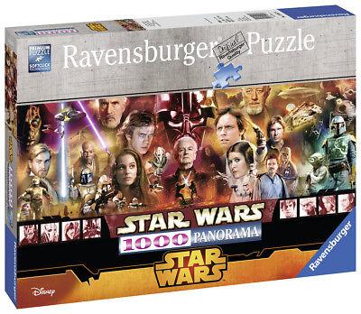 Ravensburger 15067 Star Wars Legenden 1000 Teile Panorama Puzzle (Star Wars Puzzle)
