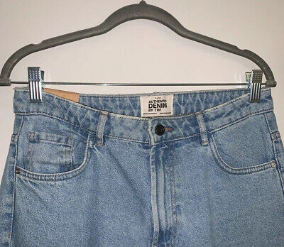 ZARA Light Denim mom Jeans, High Waisted. Size: EUR 38 / UK 10