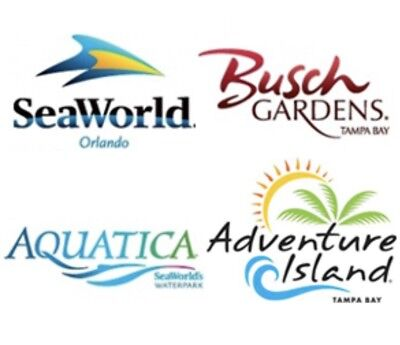SEAWORLD ORLANDO & AQUATICA BUSCH 2 OR 3 DAY TICKET $89 PROMO DISCOUNT SAVINGS