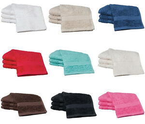 Egyptian-Cotton-Luxurious-Face-Cloth-New-Flannels-Choose-Your-Colour-FREE-POST