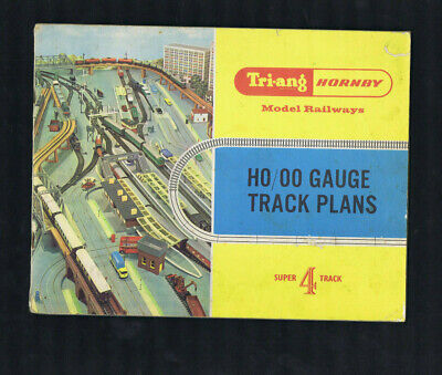#TT. TRI-ANG HORNBY MODEL RAILWAYS HO / OO TRACK PLANS
