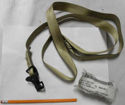 Pair Mil-spec Tie-down Straps 1 Wide X 56 L Alligator Clip Navistar 3868700-c1