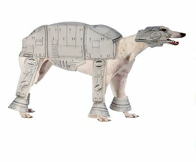 Disney Star Wars AT-AT Imperial Walker dog costume Halloween XL
