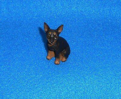 MINIATURE  PINSCHER TINY ONES DOG FIGURINE - CONVERSATION CONCEPTS - NEW