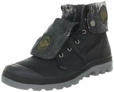 Palladium Mens Pallabrouse Baggy Leather Ankle Boot Lace-Up Black Medium 13 M US