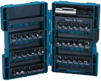 Makita set herramientas eléctricas 36 puntas 25 mm para atornillar, portapuntas