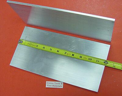 2 Pieces 14 X 6 Aluminum 6061 Flat Bar 12 Long T6511 .25 Cut New Mill Stock