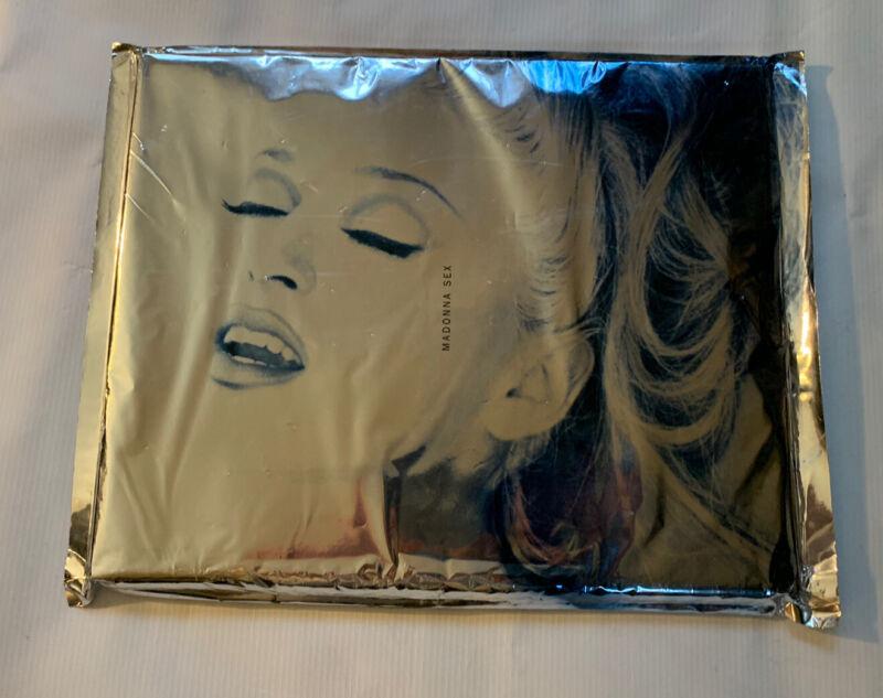 1992 NEW - Unopened - Madonna Sex Book, Made In USA, Warner Books