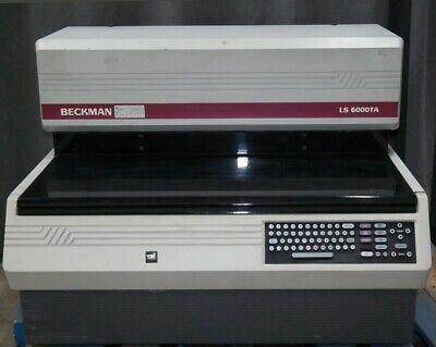 Beckman Ls 6000ta Liquid Scintillation Counter Ls 6000 Ta Ls6000 Scintillator