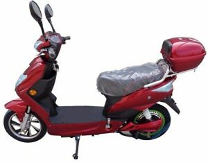 Electric Bike Moped Scooter - 48V Lithium Battery, 250W, Road Legal 2018 Model