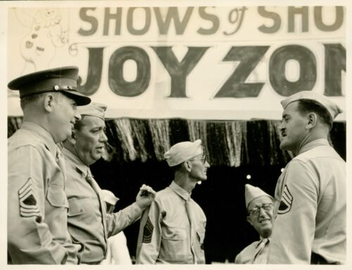 1940 Hickam Field Hawaii Photo #1, Shows of Shows, Joy Zone
