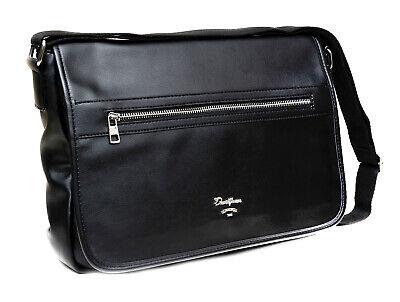 1d30499c59 Borsa tracolla David Jones uomo nero valigetta portadocumenti lavoro  business