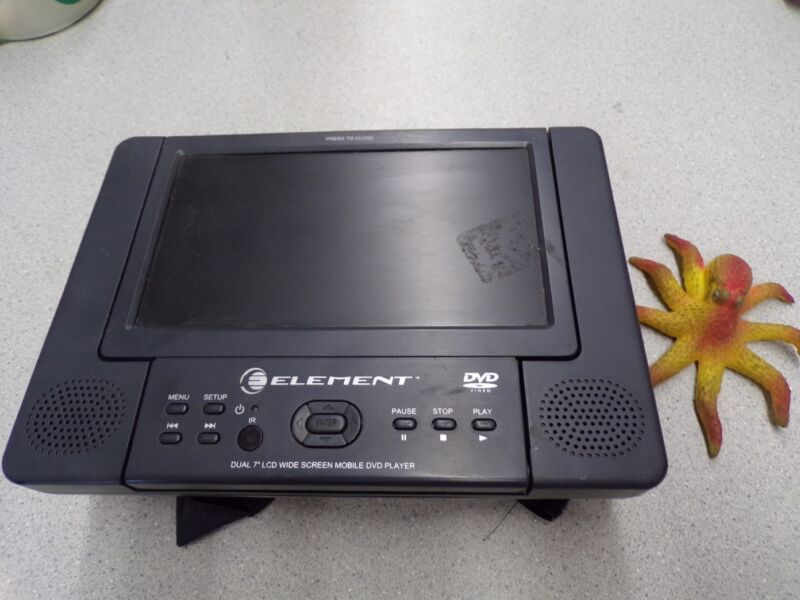 "Element Dual 7"" LCD Widescreen Mobile DVD Player *FREE SHIPPING*"