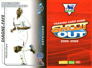 SHOOT-OUT-FOOTBALL-CARD-2005-2006-BOLTON-WANDERERS-ABDOULAYE-DIAGNE-FAYE