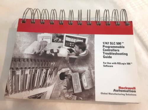 Rockwell ABT-1747-TSJ2.  RSLogix Troubleshooting Guide. Free Shipping