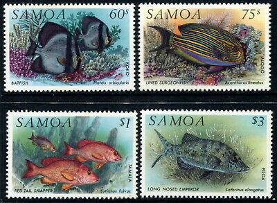 SAMOA - 1993 'FISH' Set of 4 MLH SG890-893 [A8659]