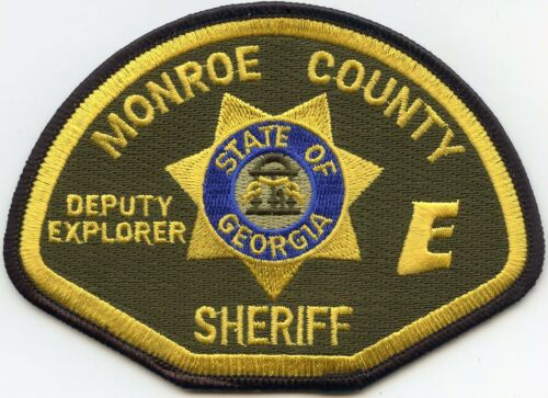 MONROE COUNTY GEORGIA GA DEPUTY EXPLORER SHERIFF POLICE PATCH