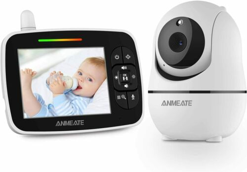 """Baby Monitor with Remote Pan-Tilt-Zoom Camera 3.5"""" Display Baby Monitor New!!!!"""