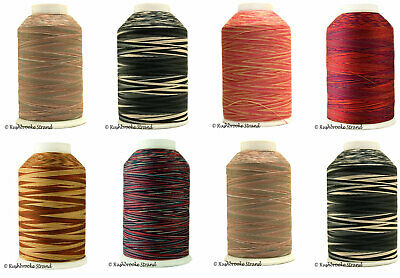 YLI machine cotton quilting thread 3 ply variegated 3000 yard cone 40wt T-40 Variegated Cotton Quilting Thread