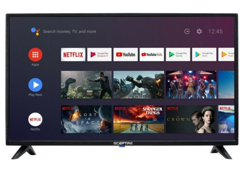 """Sceptre 32"""" Class HD (720p) Android Smart LED TV with Google Assistant A328BV-SR"""