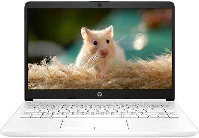 "HP 14"" HD Laptop AMD A4 2.6GHz 64GB SSD 4GB RAM Webcam Win10 1Yr Office 365 Incl"