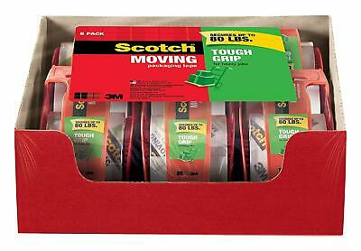 Scotch Tough Grip Moving Packing Tape, 1.88