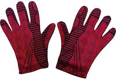 Adult Marvel Comics Superhero Movie The Amazing Spider-Man 2 Red Costume Gloves](The Amazing Spiderman Gloves)