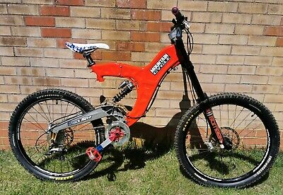 "Rare Vintage Retro Mountain Cycle Shockwave 19"" DH mtb mountain bike San Andreas"