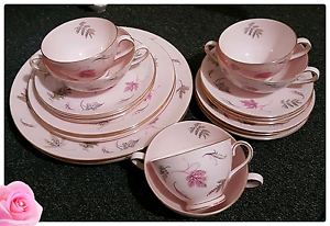 Antique Teacup & Saucer Set Kanwal Wyong Area Preview