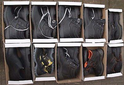BICAP Konvolut Sonder-Posten Restposten 10 Paar Sicherheitsschuhe Schuhe Mix