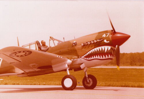 FLYING TIGERS ~ P-40 WARHAWK ~ CHINESE AIR FORCE MARKINGS