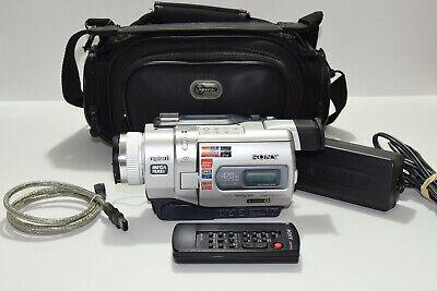 Sony DCR-TRV840 Digital8 HI8 8mm Video8 Camcorder Nightshot Video Transfer