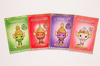 Ramayana Facial Scented Mask Set(Thai orchid,Mixed berry,Ruby Powder,Lemongrass)