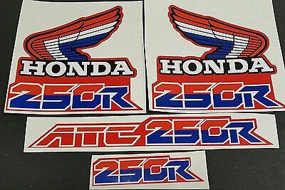 ATC 250R RED GAS TANK RADIATOR AIR SHROUDS SCOOPS 85-86,OEM HONDA ATC250R