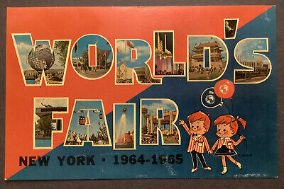 Unisphere 1964-1965 World's Fair New York Vintage Postcard